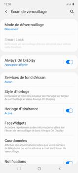 Samsung Galaxy Note 10 Lite - Sécuriser votre mobile - Activer le code de verrouillage - Étape 5