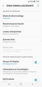 Samsung Galaxy S8 - Sécuriser votre mobile - Activer le code de verrouillage - Étape 5