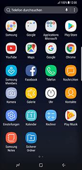 Samsung Galaxy S8 Plus - Datenschutz und Sicherheit - Cookies und Verlauf löschen - 3 / 12