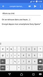 Sony Xperia XZ - Android Nougat - E-mail - envoyer un e-mail - Étape 9