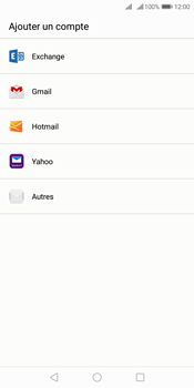 Huawei Y7 (2018) - E-mail - 032c. Email wizard - Outlook - Étape 4