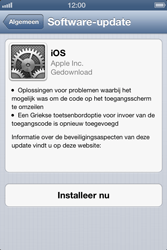 Apple iPhone 4 (iOS 6) - software - update installeren zonder pc - stap 5