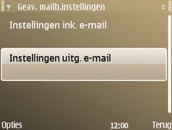 Nokia E72 - E-mail - Handmatig instellen - Stap 24