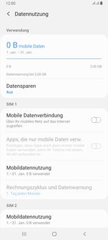 Samsung Galaxy A80 - Internet und Datenroaming - Prüfen, ob Datenkonnektivität aktiviert ist - Schritt 6