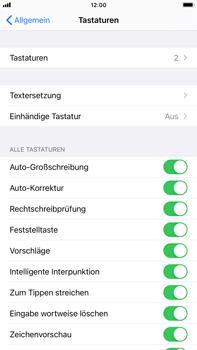 Apple iPhone 7 Plus - iOS 14 - Startanleitung - So fügen Sie eine Tastatursprache hinzu - Schritt 5
