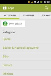 Sony Xperia Tipo Dual - Apps - Herunterladen - 2 / 2