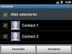 Samsung B5510 Galaxy TXT - contacten, foto