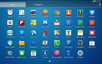 Samsung P5220 Galaxy Tab 3 10-1 LTE - SMS - Manual configuration - Step 3