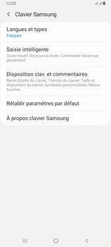 Samsung Galaxy A80 - Prise en main - Comment ajouter une langue de clavier - Étape 8