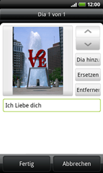 HTC Desire Z - MMS - Erstellen und senden - 13 / 16