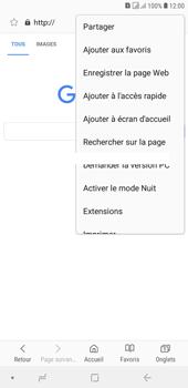 Samsung Galaxy J4+ - Internet et connexion - Naviguer sur internet - Étape 9
