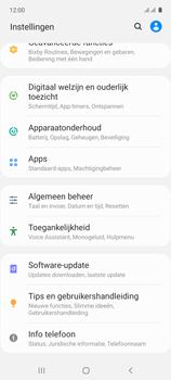 Samsung galaxy-a71-sm-a715f - Software updaten - Update installeren - Stap 4