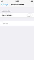 Apple iPhone SE - iOS 11 - Netwerk selecteren - Handmatig een netwerk selecteren - Stap 6
