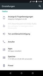HTC One A9 - Android Nougat - Anrufe - Rufumleitungen setzen und löschen - Schritt 4