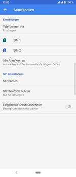Sony Xperia 10 Plus - Anrufe - Rufumleitungen setzen und löschen - Schritt 7