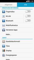 Huawei Ascend G6 - Netzwerk - Netzwerkeinstellungen ändern - Schritt 4