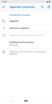 Google Pixel 3 - Internet et connexion - Connexion avec un équipement multimédia via Bluetooth - Étape 9