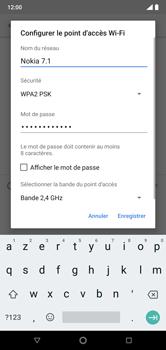 Nokia 7.1 - Internet et connexion - Partager votre connexion en Wi-Fi - Étape 8