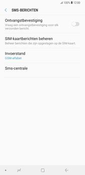 Samsung Galaxy Note9 - sms - handmatig instellen - stap 10