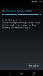 Sony Xperia T3 - Apps - Konto anlegen und einrichten - 15 / 22