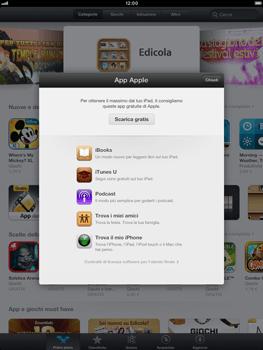 Apple iPad mini - Applicazioni - Configurazione del negozio applicazioni - Fase 3