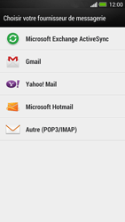 HTC One - E-mail - Configuration manuelle - Étape 5