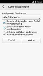 Huawei Ascend Y550 - E-Mail - Konto einrichten (yahoo) - 1 / 1