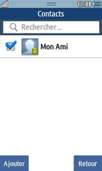 Samsung Wave 723 - Contact, Appels, SMS/MMS - Envoyer un SMS - Étape 7