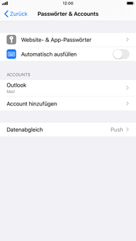 Apple iPhone 6s Plus - iOS 13 - E-Mail - Konto einrichten (outlook) - Schritt 9