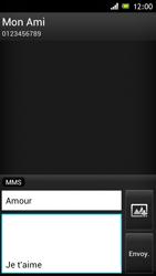 Sony ST26i Xperia J - MMS - envoi d'images - Étape 12