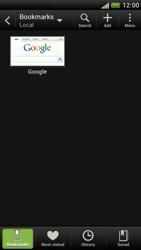 HTC Z520e One S - Internet - Internet browsing - Step 8