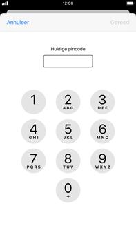 Apple iPhone 8 Plus - iOS 13 - Beveiliging - Stel de pincode voor je simkaart in - Stap 6