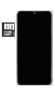 Samsung Galaxy A40 - Toestel - simkaart plaatsen - Stap 5