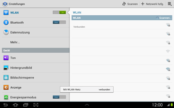 Samsung P5100 Galaxy Tab 2 10-1 - WLAN - Manuelle Konfiguration - Schritt 7