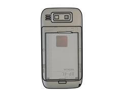 Nokia E72 - SIM-Karte - Einlegen - Schritt 5
