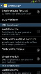 Samsung I9195 Galaxy S4 Mini LTE - SMS - Manuelle Konfiguration - Schritt 8