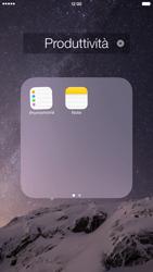 Apple iPhone 6 Plus - iOS 8 - Operazioni iniziali - Personalizzazione della schermata iniziale - Fase 5