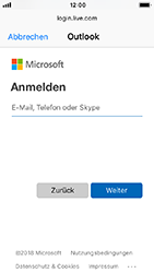 Apple iPhone 5s - iOS 12 - E-Mail - Konto einrichten (outlook) - Schritt 6