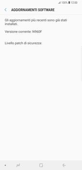 Samsung Galaxy Note9 - Software - Installazione degli aggiornamenti software - Fase 8