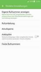 Samsung J510 Galaxy J5 (2016) - Anrufe - Rufumleitungen setzen und löschen - Schritt 7