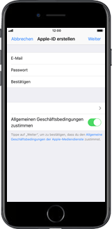 Apple iPhone 7 Plus - Apps - Konto anlegen und einrichten - 9 / 26