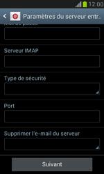 Samsung I8190 Galaxy S III Mini - E-mail - Configuration manuelle - Étape 11