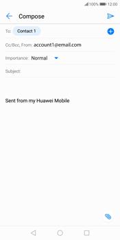 Huawei P Smart - E-mail - Sending emails - Step 8
