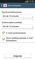 Samsung Galaxy Trend Plus (S7580) - E-mail - Account instellen (IMAP met SMTP-verificatie) - Stap 17