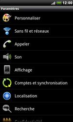 HTC S510e Desire S - Internet - configuration manuelle - Étape 5