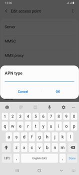 Samsung Galaxy A70 - MMS - Manual configuration - Step 13