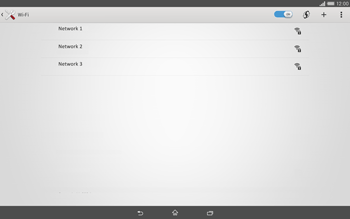 Sony Xperia Tablet Z2 LTE - WiFi - WiFi configuration - Step 6