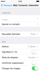 Apple iPhone 5c - E-mail - configuration manuelle - Étape 19