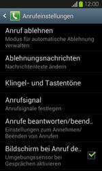 Samsung I9100 Galaxy S2 mit Android 4.1 - Anrufe - Anrufe blockieren - Schritt 6