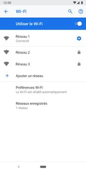 Google Pixel 3 - Internet et connexion - Accéder au réseau Wi-Fi - Étape 9